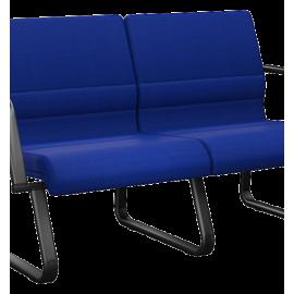 Sofá de 2 e 3 lugares para Escritório 39969 - Linha Sublime - Plaxmetal