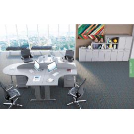 Gaveteiro volante para Escritório Executive Desk 725656 - Linha M - office 25mm