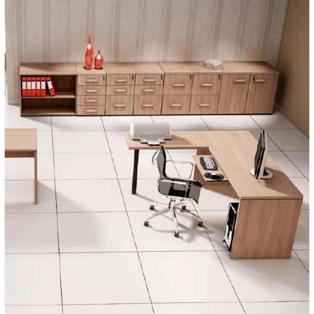 Armário gaveteiro para Escritório Executive Desk 25164 - Linha M - Maestra 25mm