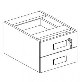 Gaveteiro suspenso para Escritório Executive Desk 25385 - Linha M - Maestra 44mm