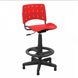 Cadeira Secretária Caixa para Escritório 37031 - Linha Ergoplax - Plaxmetal