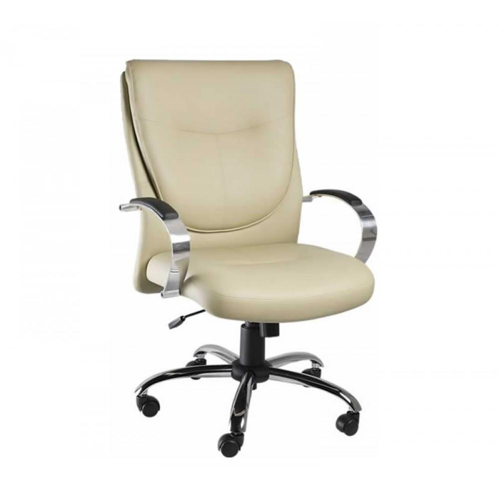 Cadeira Diretor giratória a gás braço -Linha Evoluti-Mobilan