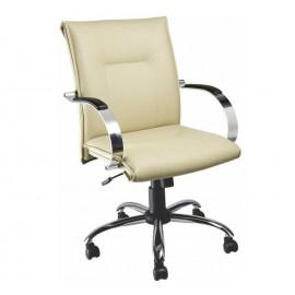 Cadeira Diretor giratória a gás braço -Linha Tropic-Mobilan