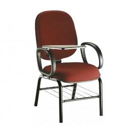 Cadeira Diretor universitária com prancheta escamoteável/ Linha Dahlia- Mobilan