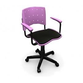 Cadeira Secretária Giratória Para Escritório